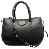 "Jimmy Choo Rania"" Black Leather Shoulder Bag"