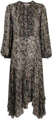 Etoile Isabel Marant Lizete floral print midi dress