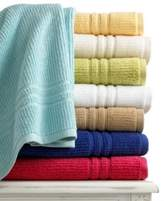 "Martha Stewart Collection Bath Towels, Quick Dry 27"" X 52"" Bath Towel - Ivory"