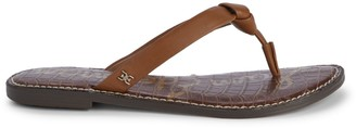 Sam Edelman Giles Knotted Leather Flip Flops