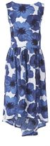 Nautica Little Girls' Ink Floral Dress (2T-7)
