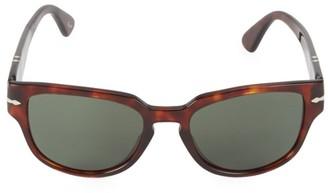 Persol 54MM Square Havana Sunglasses