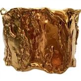 Saint Laurent Gold Gold plated Bracelet