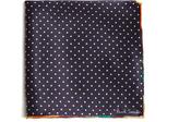 Paul Smith Polka-dot print silk pocket square
