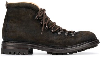 Officine Creative Alix lace-up ankle boots