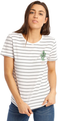 Only Kita Short Sleeve Cactus T/Shirt