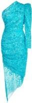 Giuseppe Di Morabito sequin-embellished one-sleeve dress