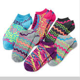 JCPenney Total Girl 6-pk. Star No-Show Socks - Girls 7-16