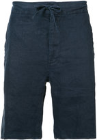 Onia Max drawstring shorts - men - Linen/Flax - M