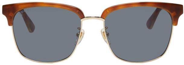 01c7d317029 Mens Blue Gucci Sunglasses - ShopStyle