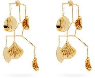 Anissa Kermiche Kinetic Petal Gold-plated Brass Earrings - Gold