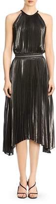Bailey 44 Madison Metallic Pleated Dress