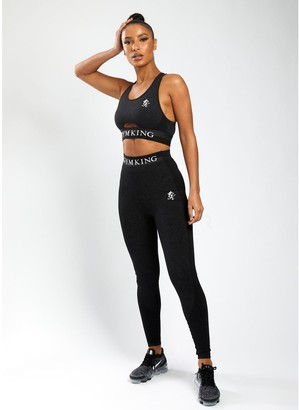 Gym King Sport Results Keyhole Bra - Black