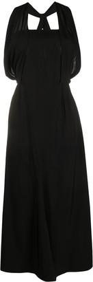 Prada Square-Neck Empire Line Dress