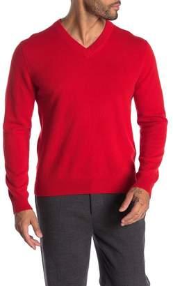 Qi Cashmere V-Neck Sweater