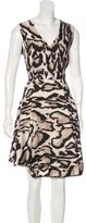 Diane von Furstenberg Wool & Silk Dress w/ Tags