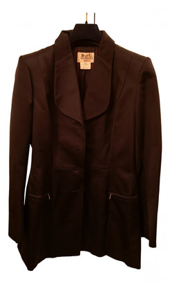 Hermes Black Silk Jackets