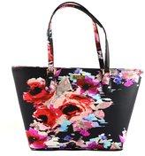 Kate Spade Small Dally Tote Bag Blurry Floral Laurel Way Handbag