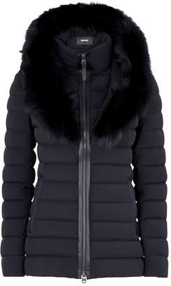 Mackage Lightweight Fur-Trim Down Jacket