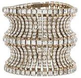 Isaac Mizrahi Crystal Cuff Bracelet