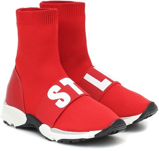 Stella McCartney Kids Logo sock sneakers