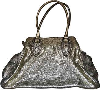 Fendi Gold Leather Handbags