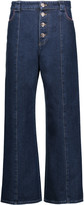 Sonia Rykiel High-rise cropped wide-leg jeans