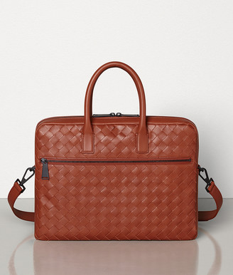 Bottega Veneta SMALL BRIEFCASE IN INTRECCIATO VN