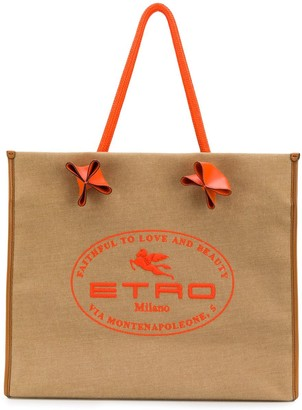 Etro Faithful To Love And Beauty tote