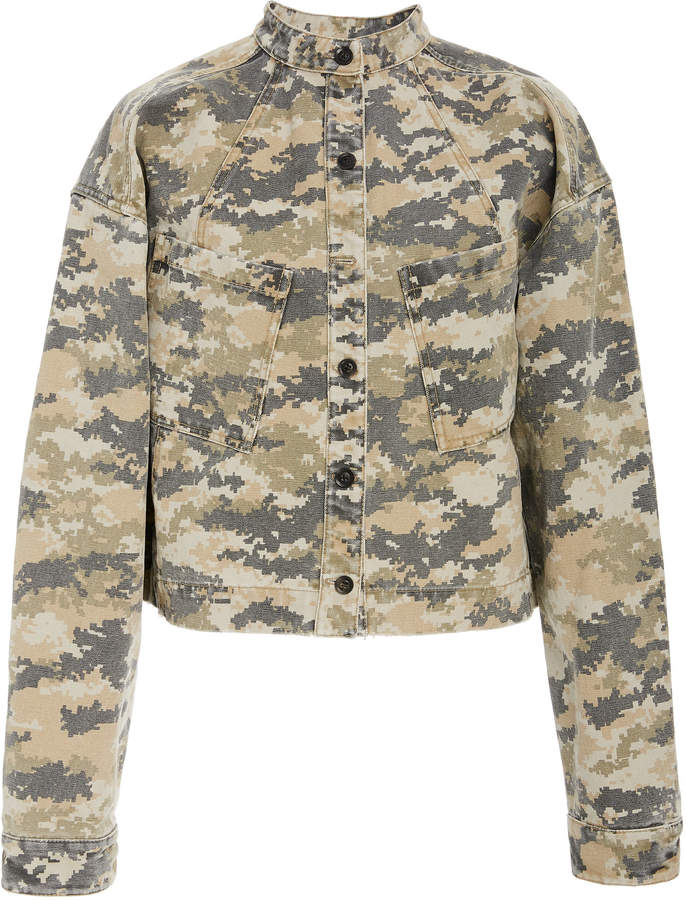 78acc96f Women's Fitted Camo Jacket - ShopStyle UK