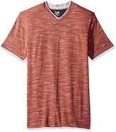 Lee Men's Short Sleeve Fashion Vneck
