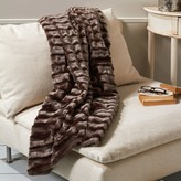 The Well Appointed House Sheared Beaver Faux Fur Throw - IN STOCK IN OUR GREENWICH STORE FOR QUICK SHIPPING