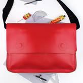 Undercover Large Leather Messenger Bag