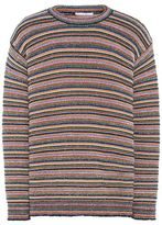 Stella McCartney multicolor stripes crew neck jumper
