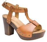 Muk Luks Women's Gindy Heeled Ankle Strap Sandal