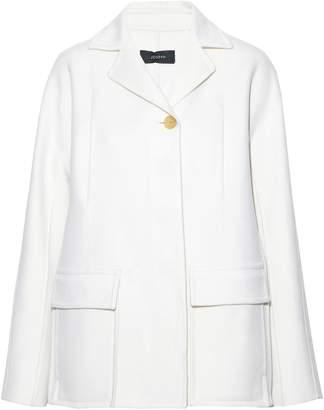 Joseph Caplan Split-side Wool And Cashmere-blend Felt Coat