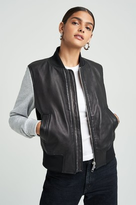 LTH JKT 100% Polyester/Organic Cotton/Lycra Bomber Jacket