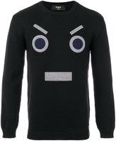 Fendi No Words sweater - men - Wool - 46
