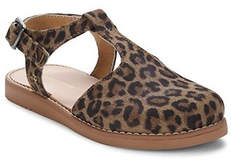 Freshly Picked Baby Girl's & Little Girl's Leopard Newport Sandals