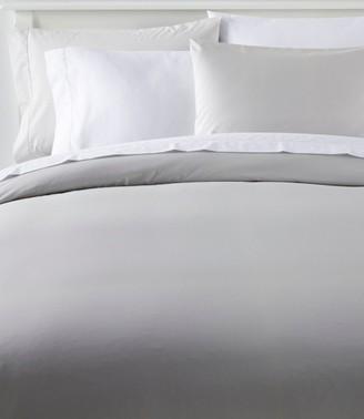 L.L. Bean 280-Thread-Count Pima Cotton Percale, Comforter Cover Collection
