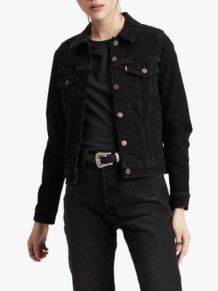 Levi's Original Trucker Denim Jacket, Black Rose