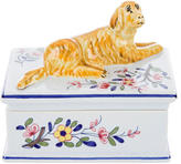 Tiffany & Co. Golden Retriever Trinket Box