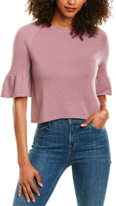 Revive Cashmere Crop Cashmere Sweater