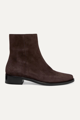 LEGRES 02 Suede Ankle Boots - Brown