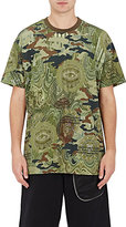 Givenchy Men's Camouflage- & Money-Print T-Shirt-DARK GREEN