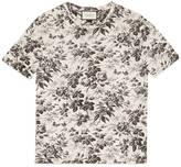 Gucci Herbarium print cotton t-shirt