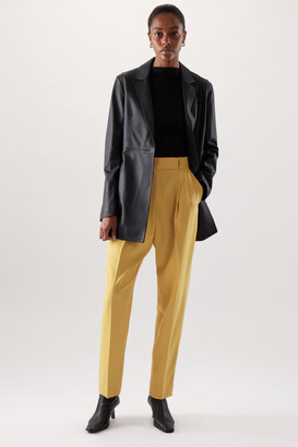 Cos Tapered Wool Mix Trousers