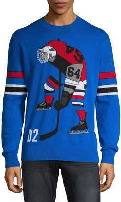 DSQUARED2 Graphic Wool Sweater