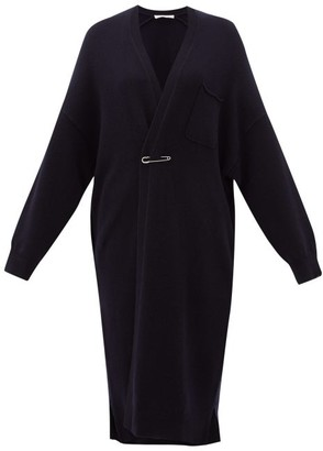 Extreme Cashmere - No. 61 Koto Long-line Stretch-cashmere Cardigan - Navy
