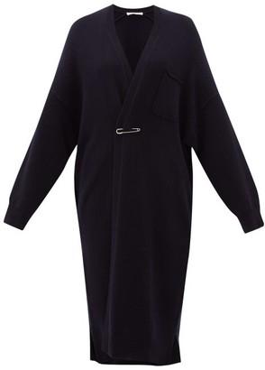 Extreme Cashmere - No. 61 Koto Long-line Stretch-cashmere Cardigan - Womens - Navy